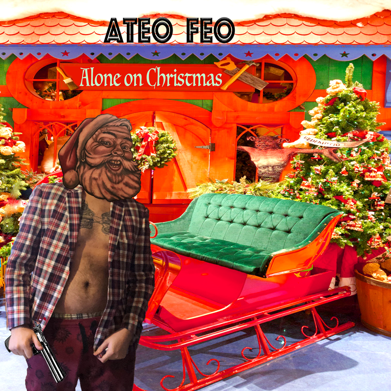 Brace yourself for an action packed funky Christmas ride with 'Ateo Feo' and 'Alone on Christmas'