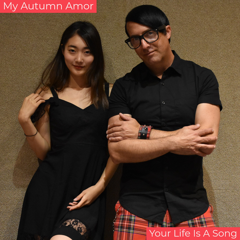 Featuring LA based prestigious model 'Yuki' from Osaka, Japan, 'My Autumn Amor' burst onto the Alternative Rock scene with their sizzling hot new album 'Your Life Is A Song'