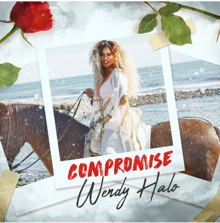 Powerful, sensual and reminiscent of a different age, 'Wendy Halo' will not  'Compromise' on her brand new drop!