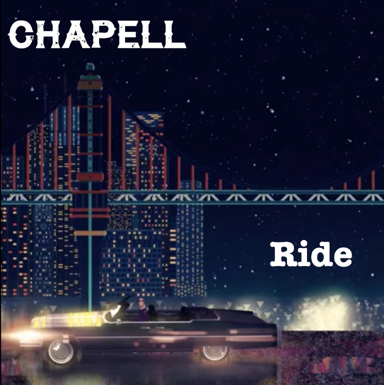 "Chapell's Much Anticipated Single ""Ride"" delivers a warm, anthemic, violin-led sound that is touching and well crafted!"