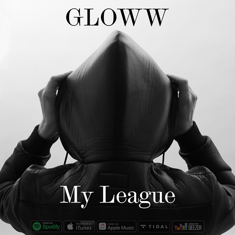 'GLOWW' arrives with a dark electronic sound and a warm tropical ethereal twist on haunting new electronic single 'My League'