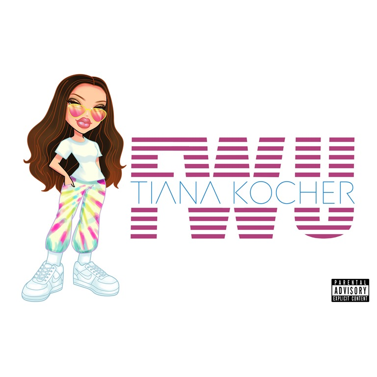 BNS RISING RNB AND POP HITS OF 2020: With an irresistible groove and soulful RnB vibe the cool 'Tiana Kocher' gathers her worldwide friends together on sweet vibrant pop hit 'FWU'