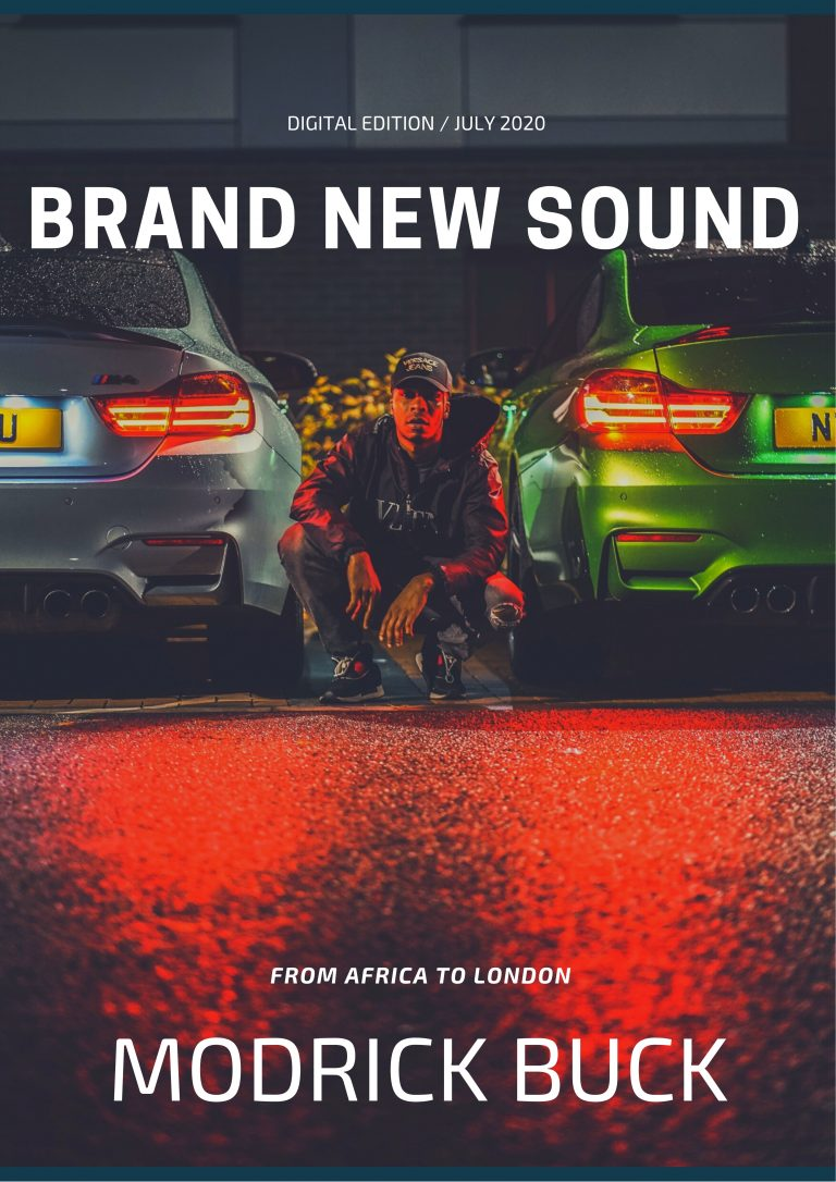 """Guaranteed to hypnotise you for life with a street cred not seen before and with a real life journey and story, Zimbabwean-born 'Modrick Buck' delivers a mesmerising single with G Unit's """"Kidd Kidd"""""""
