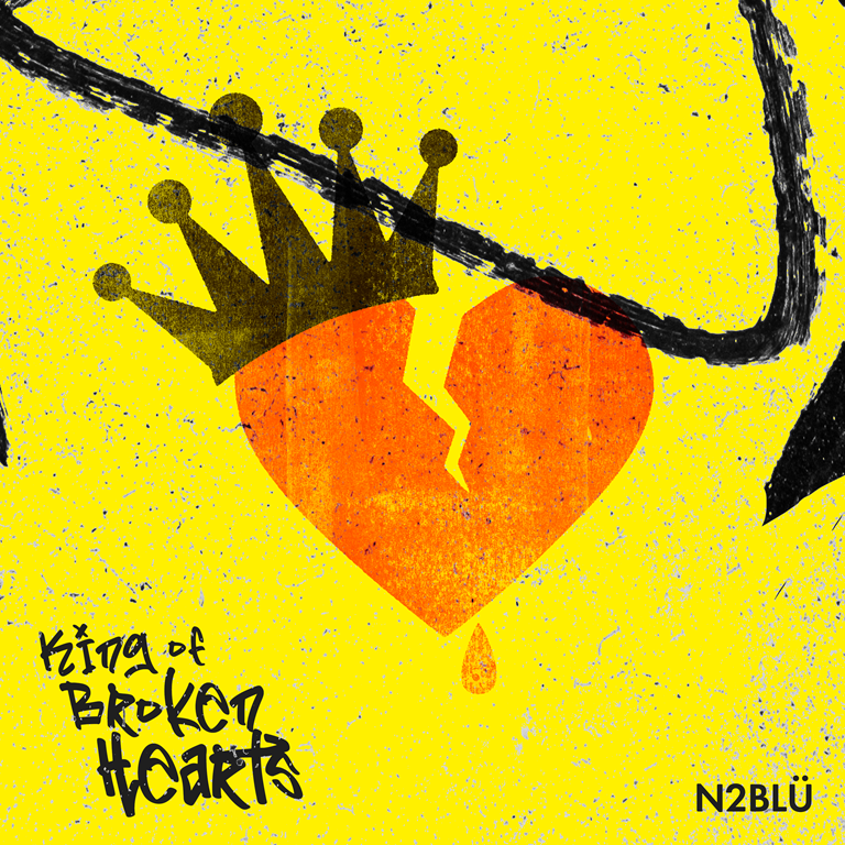 Brand New Sound from N2BLÜ arrives as they unleash 'King of Broken Hearts' with it's human 'Killers' electronic pop vibe and heavenly synth strings