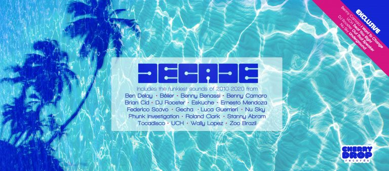 Cherry Drop Records will be releasing a new compilation album entitled 'Decade' which is a 30 track house music compilation to celebrate its 10 year anniversary