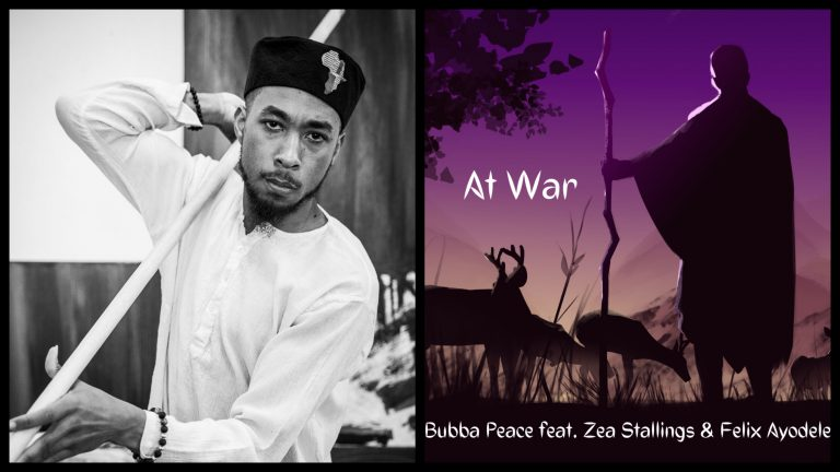 'At War' is an acoustic hiphop vibe that screams Rocky Mountain Hippie, and explores how we all have mountains we need to climb in order to bring peace into our lives